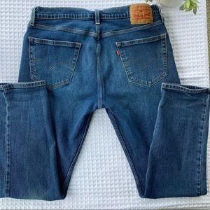 Levis's 502 Taper Fit Medium Wash 34 x 32 Jeans